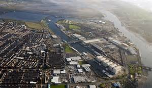 Arial view: Barrow-in-Furness