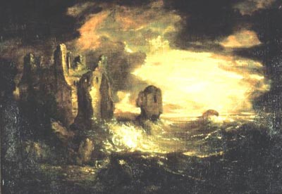 Elegy_Peele_Castle_in_a_Storm_by_Sir_George_Beaumont