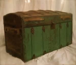 green-steamer-trunk