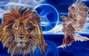 lion-and-eagle