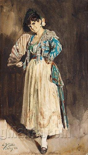 spanish-lady-black-beret-225_37288